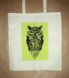 owl - handmade bags
