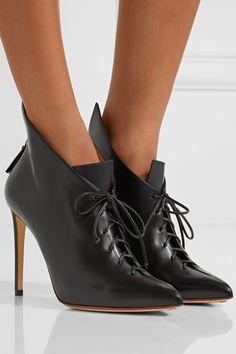 Francesco Russo | Lace-up leather ankle boots | NET-A-PORTER.COM