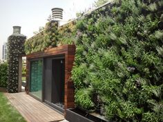 Louvelia Biofiver green ventilated panel facades by ArcPlan Consulting