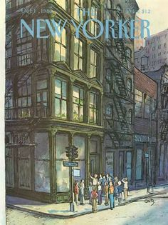 The New Yorker : Oct 13, 1980/ The world that Molly,aka Monique lived in, was what any woman in her mid twenties would have dreamed of. She was what soon would be known as a Super Model. She lived and breathed New York.