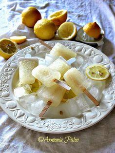 Ghiaccioli di Acqua di Cocco e Limone