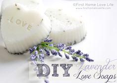 DIY Lavender Love Soaps
