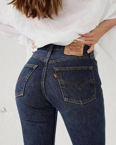 Sexy Jeans, Levis Skinny Jeans, Jeans Pants, Jeans Overall, Cowgirl Jeans, Chica Cool, Mode Style, Girls Jeans, Blue Jeans