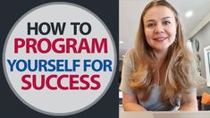 How to program yourself for success. How to make your dreams come true i...