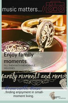 Enjoy family moments and fill them with memorable melodies.
