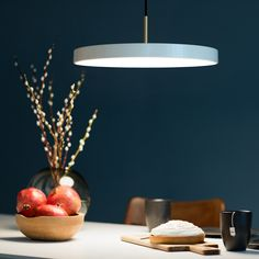 The popular Asteria lamp by VitaCopenhagen, availlable in 5 colors - Shop today only with discount! Pendant Lamp, Pendant Lighting, Light Pendant, Home Interior, Interior Design, Condo Decorating, Made In France, Brighten Your Day, Kids House