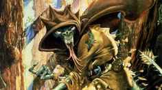 Though he illustrated only a handful of publications in the Fighting Fantasy line of roleplaying gamebooks by Steve Jackson and Ian Livingstone,co-founders of Britain's Games Workshop, there…