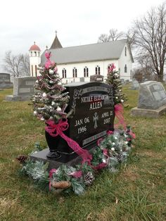 graveside decorations grave decorations grave flowers cemetery flowers funeral flowers pink - Christmas Grave Decorations