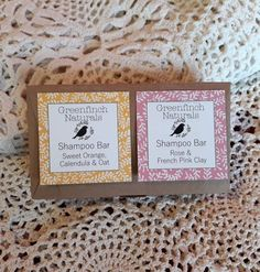 Shampoo Bars gift set - Rose and French Clay & Sweet Orange, Oat and Calendula. Presents For Men, Gifts For Him, Christmas Gift For You, Handmade Christmas, Etsy Handmade, Handmade Gifts, Bar Gifts, Support Local