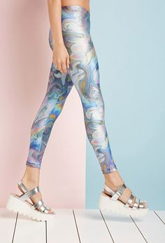 oil slick leggings forever 21