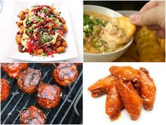 Serious Entertaining: Game Day Finger Food