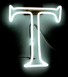 The Letter T by Lite Brite Neon, via Flickr