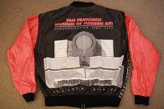Vintage 1992 SF MOMA Groundbreaking Tyvek Windbreaker on Etsy, $70.00