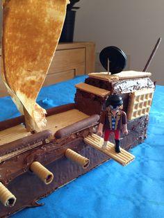 Gâteau d anniversaire pirate...
