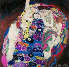 Gustav Klimt - Die Mädchen