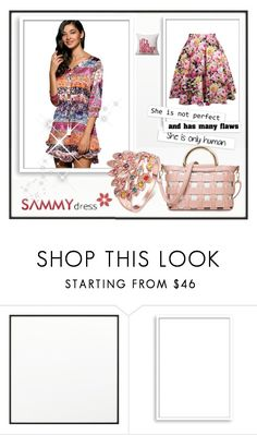 """19. Pinky style"" by red-rose-girl ❤ liked on Polyvore featuring By Lassen, Bomedo, Beauty, dress and polyvorefashion"