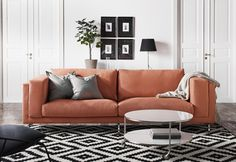 NOCKEBY has heavy and highly durable covers with texture, that also have a slight shine and soft feel. (orange coming soon)