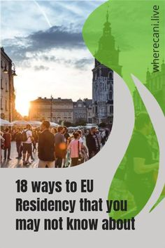 18 ways to European residency that you may not know about. #europe #european #residency #visas #eu Work Abroad, Study Abroad, Getting A Passport, Country Names, Living In Europe, Digital Nomad, Travel Inspiration, How To Find Out, Around The Worlds