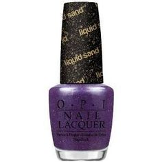 OPI Liquid Sand Collection, Inspired by Mariah Carey, Can't Let Go, #OPI