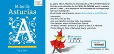 La galería VIKI BLANCO-El arte de lo imposible y PINTAR-PINTAR Editorial te invitan a la presentación del libro Mitos de Asturias, escrito e ilustrado por PACO ABRIL, y a la inauguración de la exposición de los collages originales que lo acompañan. El acto tendrá lugar el próximo viernes, 30 de octubre, a las 20.00 horas.