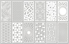 Tim Tim Desenho, Kit Cnc, Bloc Autocad, Jaali Design, Cnc Cutting Design, Laser Cutting, Wall Stencil Patterns, Laser Cut Panels, Room Partition Designs