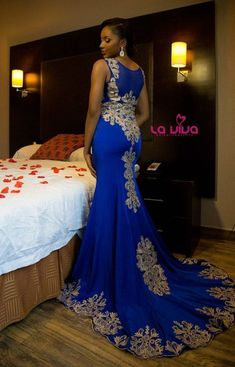 LaViva B/ Concepts_Bridal Collection_Lagos, Nigeria Wedding African Lace Dresses, African Wedding Dress, African Fashion Dresses, African Attire, African Outfits, African Traditional Wedding, Bridesmaid Dresses, Wedding Dresses, Reception Dresses