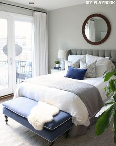 No-Sew Blackout Curtains from Ikea. Save money on window treatments and try these!
