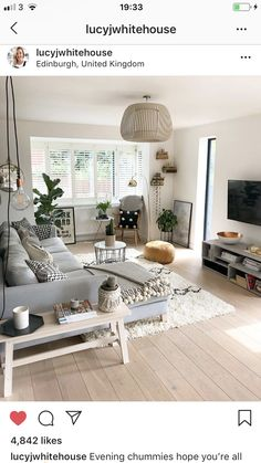 The Best 2019 Interior Design Trends - Interior Design Ideas Living Room Colors, Living Room Grey, Small Living Rooms, Living Room Kitchen, Living Room Interior, Home Living Room, Apartment Living, Home Interior Design, Living Room Designs