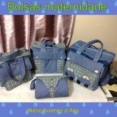Como Fazer Kit de Bolsa Maternidade By Atelie Aromes d'Ana
