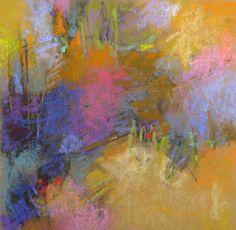 Impression of Spring, (7x7) pastel by Debora L. Stewart
