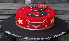 Lighting Mcqueen Birthday Cake Ideas Picture