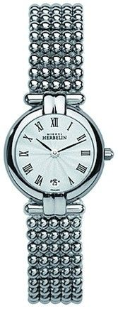 Michel Herbelin Ladies Mother Of Pearl Dial Gold Plated Perle Bracelet Watch Rolex Watches, Diamond Engagement Rings, Bracelet Watch, Wedding Rings, Jewels, Lady, Bracelets, Pearl, Silver