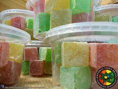 Sabonetes Glicerinados no formato e aroma de Doces Cristalizados
