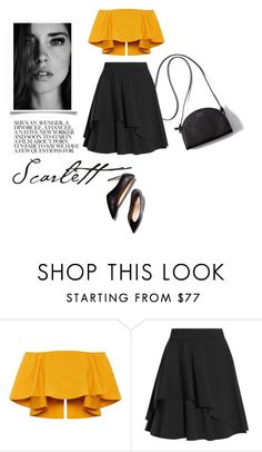 """one more time"" by aanchal-w ❤ liked on Polyvore featuring Alexander McQueen and M. Gemi"