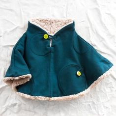 franky grow sherpa poncho - view all - baby girl Little Fashion, Baby Girl Fashion, Kids Fashion, Sewing For Kids, Baby Sewing, The Rok, Little Girl Closet, Baby Poncho, Kids Outfits