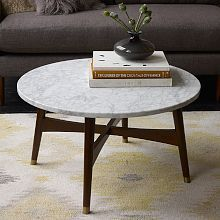 Reeve Mid-Century Coffee Table - Pecan | West Elm