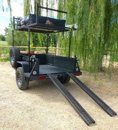 This is might be the baddest all-terrain trailer we've ever seen.