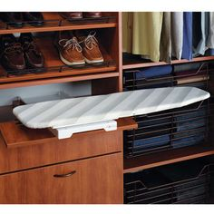 Ironing Boards - Built-in Ironing Boards - Ironfix™ Shelf-mounted Ironing Board…