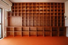 Hondana 001 水天宮前 in 2020 Bookshelves, Bookcase, Cd Storage, I Love House, Library Room, Home Libraries, Japanese Architecture, Book Nooks, Diy And Crafts