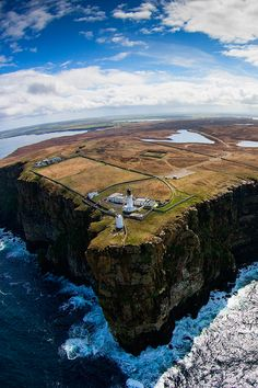 Dunnet Head, Scotland - the most northerly point of mainland Britain