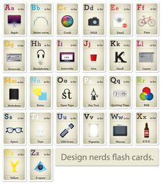 El abecedario del diseñador
