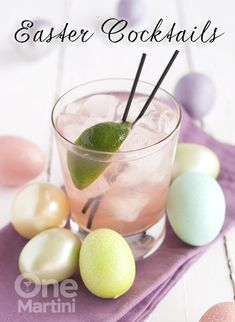 A Collection of Easter Cocktail Recipes