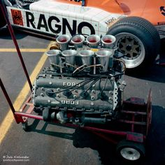 Ford Coswoth DFV F1 Engine