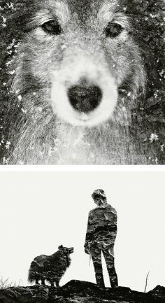 Exposición múltiple-retratos de Christoffer Relander | Parrilla Inspiración | Inspiration Design
