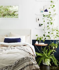 """916 Likes, 3 Comments - IVY MUSE (@ivymuse_melb) on Instagram: """"PLANT STYLE Book   Forest outside. Forest inside. Our kind of bedroom @annetteobrien styling…"""""""