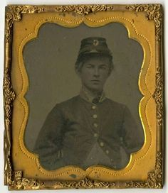"""Private Robert Cheatham, Company C """"Rock City Guards,"""" 1st (Feild's) Tennessee Infantry. Robert served until the surrender,1865. He was 17 years old at enlistment."""