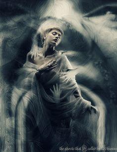 the ghosts that I called by Lhianne.deviantart.com on @deviantART