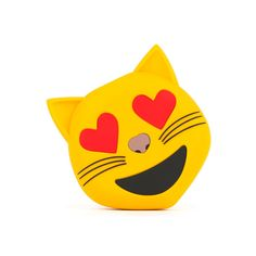 Happy Cat Emoji Portable Charger