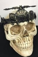 Ornate Bat Gothic Crown by Pendulous Threads UK