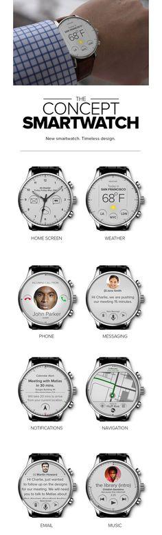 8 Best Smartwatch UI Design images in 2014   Smart Watch, UI Design